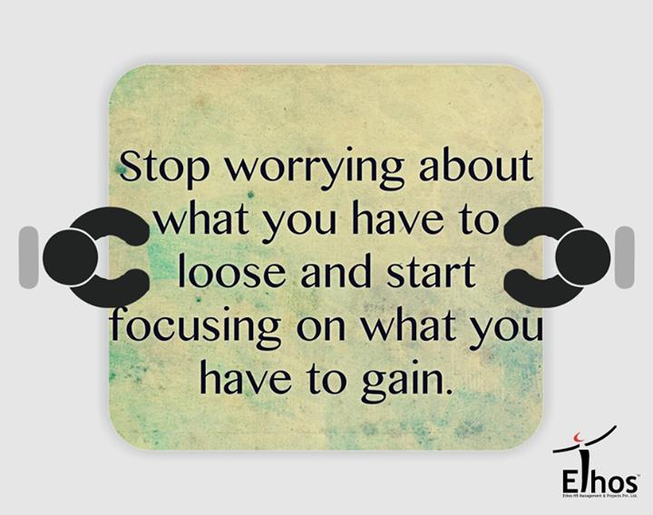 #Stop worrying start focusing!