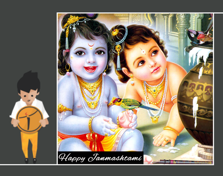 On the auspicious birthday of Lord Krishna, May the blessings of the Almighty bring #Joy, #Prosperity and #Happiness in your life.   #HappyJanmasthami