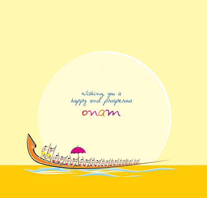 May your home be filled with joy, love and peace. #HappyOnam!