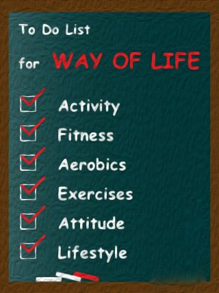 A #ToDo list for a great life!