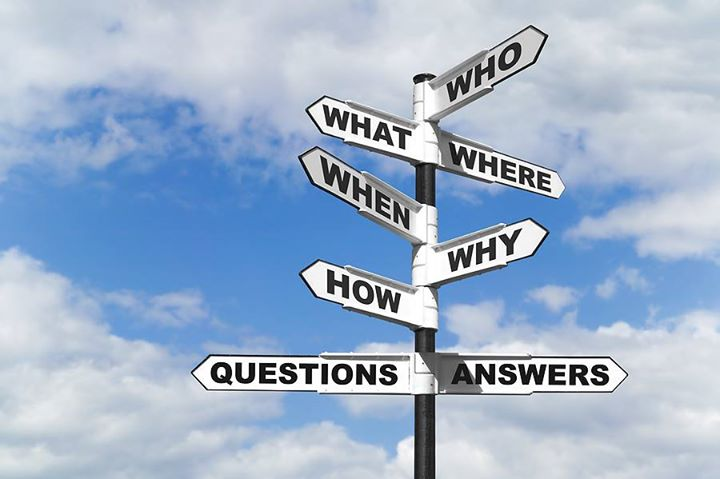 Questions are guaranteed in life, Answers aren't!