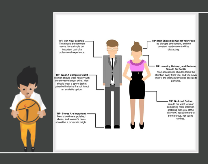 How to dress for an #Interview!