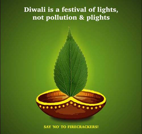 Let's go #Green this #Diwali!