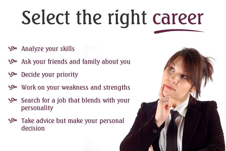 Tips to Select The Right Career: