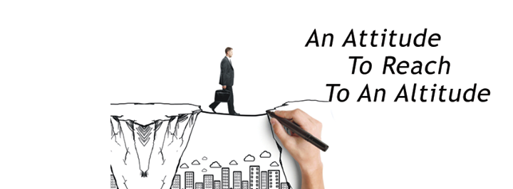 An #Attitude to reach to an #Altitude.  #Recruitment #Ahmedabad
