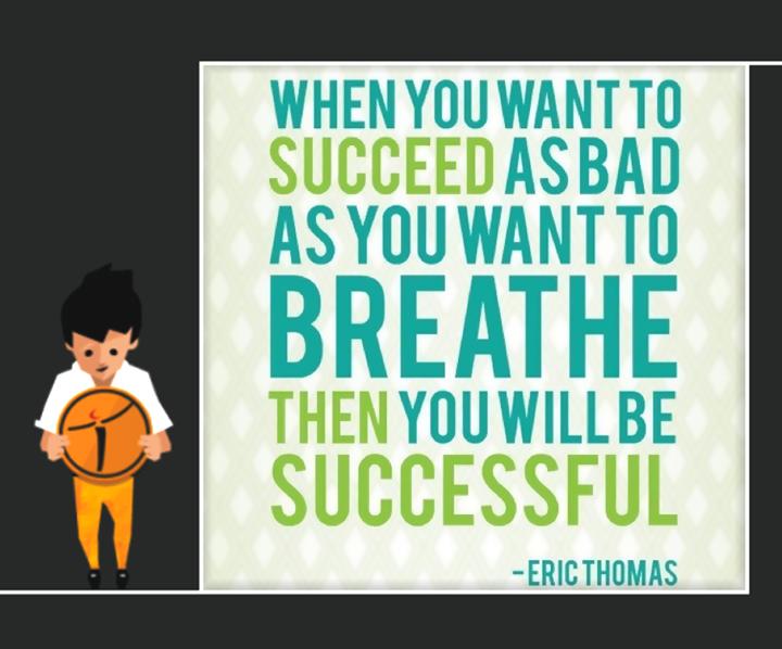 Ethos India,  Success, Motto