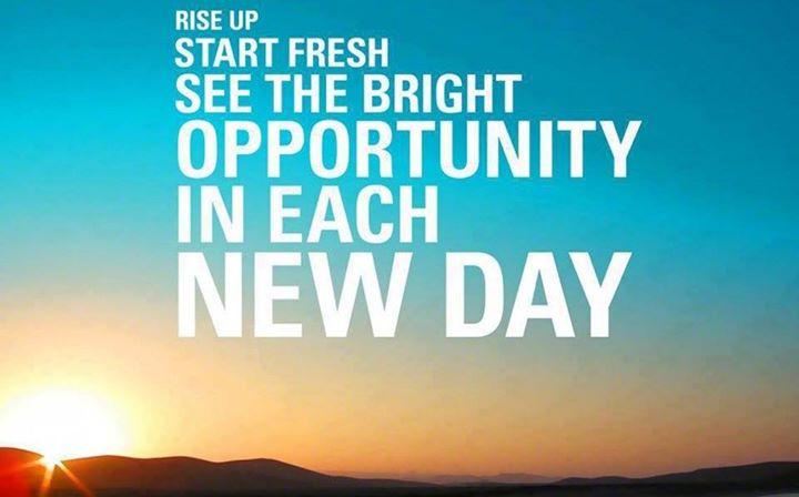 #Rise & #Shine!