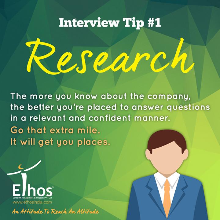 #InterviewTip1