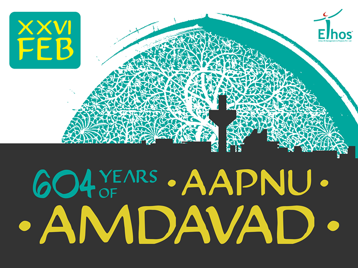 #HappyBirthdayAhmedabad  We join the world in wishing our beloved city of #Ahmedabad a glorious 604th Birthday!  Our home. Our pride. Our land. Our 'Amdavad'.  #EthosHR