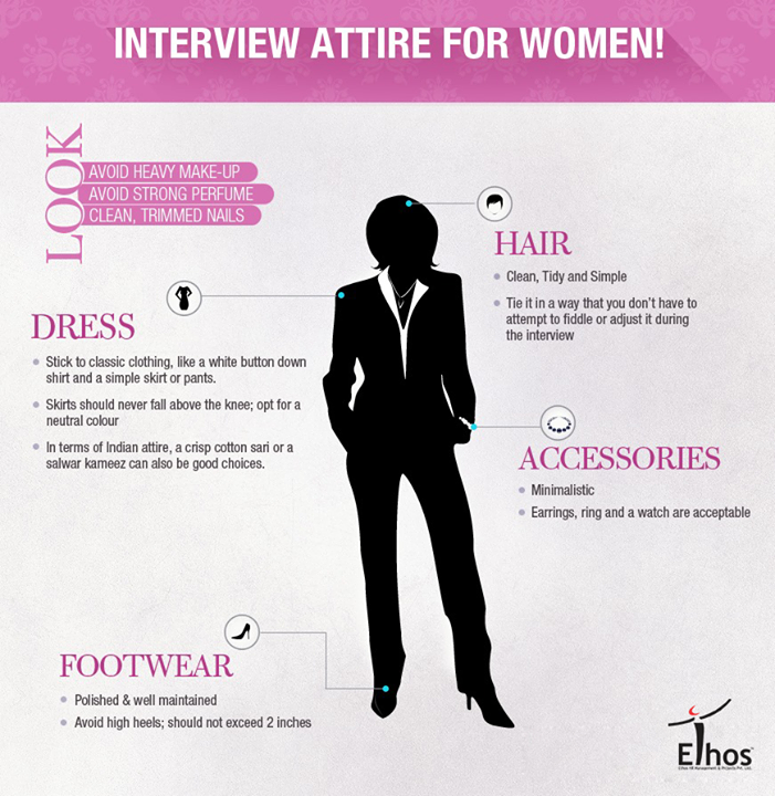// The most important thing a woman wears is her confidence! //  #InterviewAttire #Tips #Interview #Recruitment