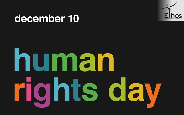 #HumanRightsDay is observed every year on 10 December. It commemorates the day on which, in 1948, the United Nations General Assembly adopted the Universal Declaration of Human Rights.  #RecruitmentinAhmedabad #Jobsforyou #EthosIndia