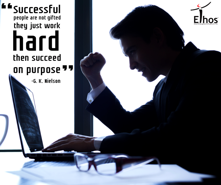 #Work hard to #succeed !  #MondayMotivation #EthosHR