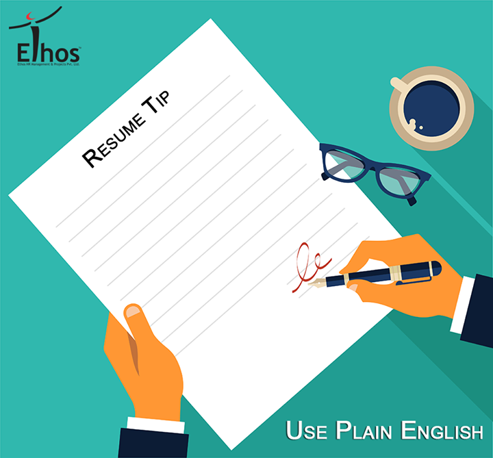 Don't be victimized by the myth that the bigger the word you use, the more impressed the reader will be with your intelligence. Keep things simple.  #ResumeTip #EthosIndia #Recruitment #JobsForYou