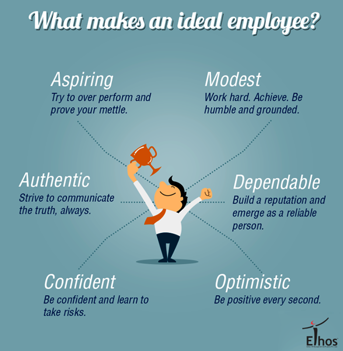 Qualities that can make you shine in your company!  #IdealEmployee #Qualities #EthosIndia #Ahmedabad