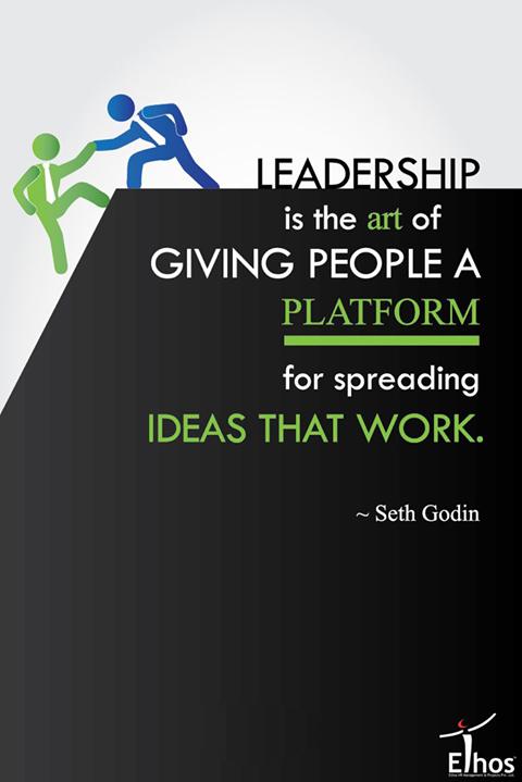 #Monday #Motivation #Leadership #InspiringOthers #EthosIndia #Ahmedabad