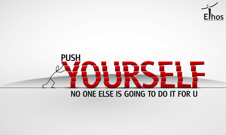 #WorkHarder, Push yourself to the maximum limit.  #MotivationalMonday #WiseWords #EthosIndia #Ahmedabad