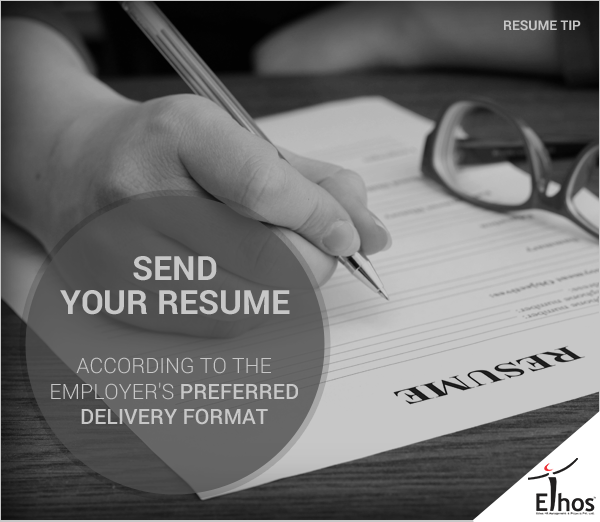 If you send the  #resume  electronically, include the links to work samples. #ResumeTip #Weekend #EthosHR