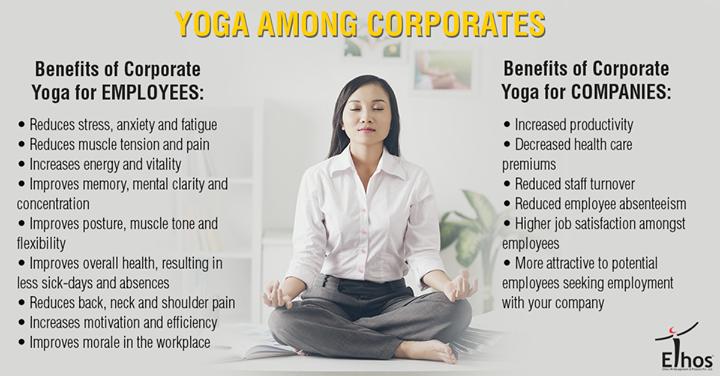 Ethos India,  Yoga, Benefits, Corporate, EthosIndia, Ahmedabad