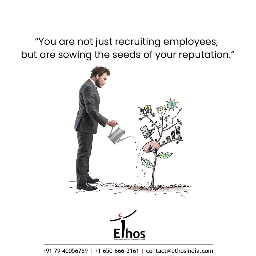 No matter what kind of work you are into, hiring the right candidates is important.  Only having a recruitment panel for the candidate selection will not be helpful because it is important to know at-least a little about the background of the candidates you hire.  Please understand that your human talent is your most important talent and you are not just recruiting employees, but are sowing the seeds of your reputation. Pledge to sow the right kind of seeds with the help of Psychometric Tests. Get it touch with us at #EthosIndia and we will help you with the most reliable psychometric tools.  #CareerCounselling #OurServices #CareerOpportunity #EthosIndia #Ahmedabad #EthosHR #Ethos #HR #Recruitment #CareerGuide #India