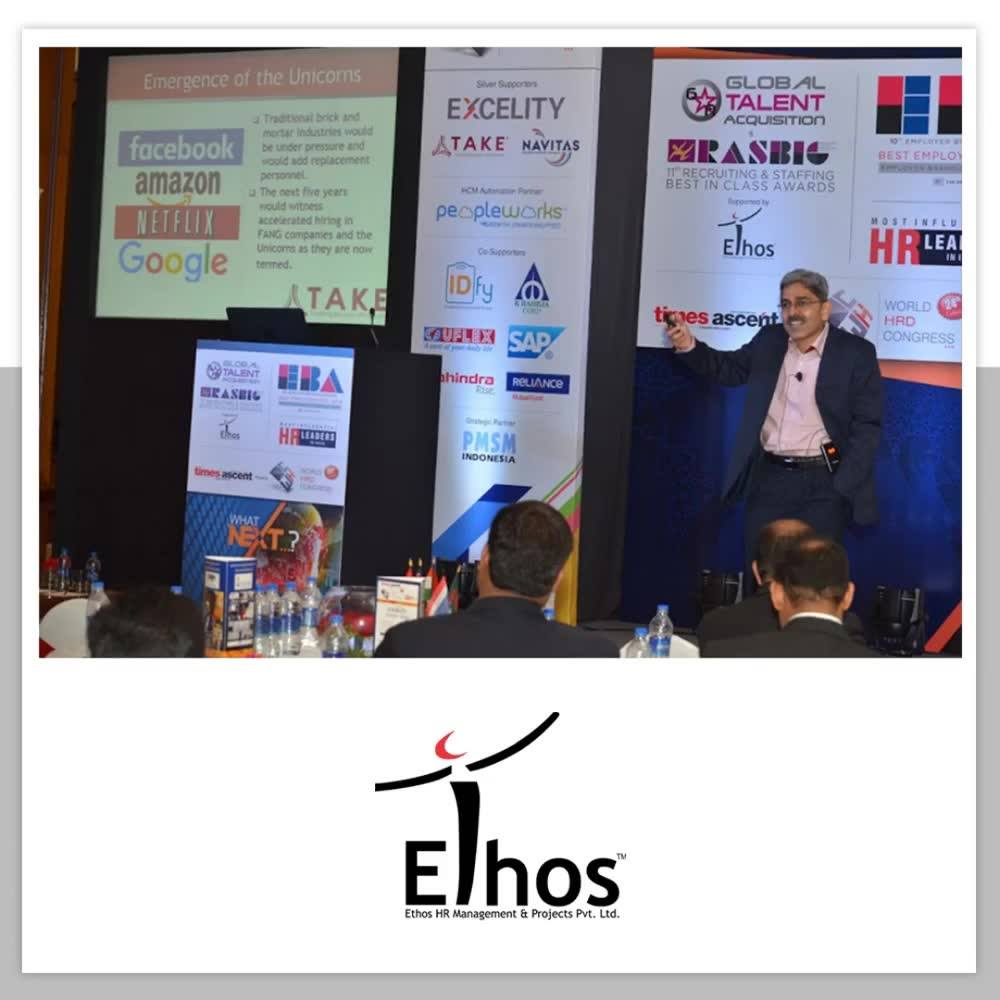 :: Blast from the past an Glimpses from the World HR Congress 2016 ::  #EthosIndia #Ahmedabad #EthosHR #Recruitment #Jobs #Change
