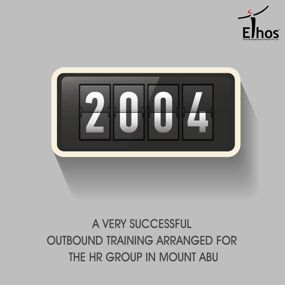 -> Ethos started enjoying positions in corporate as a panel member in many reputed organizations and started working exclusively with many organizations. -> A very successful Outbound Training Arranged for the HR Group in Mount Abu. The successful Outbound Training Programs at Mount Abu has given a new identity to Ethos as an Experiential Training Company. Other than that many successful In House training programs organized for reputed organizations. -> The new web site of Ethos launched successfully  #EthosIndia #Ahmedabad #EthosHR #Recruitment #Jobs #Change