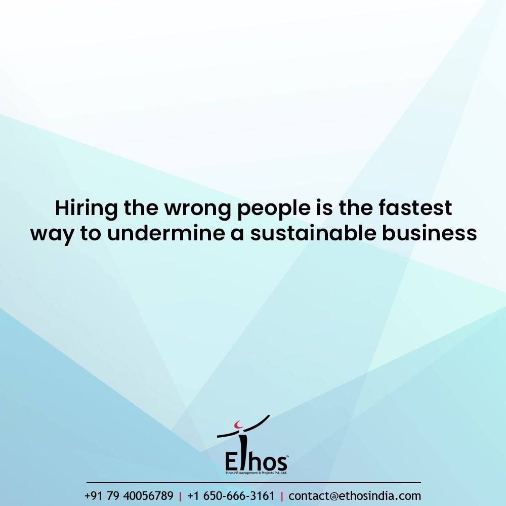 Hey you, are you hiring right set of candidates to your enterprise or organization?  Mark that hiring the wrong people is the fastest way to undermine a sustainable business. Time spent on recruitment should be time spent well.  Make recruitment worth the while with reliable, tried and rested Psychometric Test. Get in touch with us for further details or queries:- 7940056789  #CareerCounselling #OurServices #CareerOpportunity #EthosIndia #Ahmedabad #EthosHR #Ethos #HR #Recruitment #CareerGuide #India