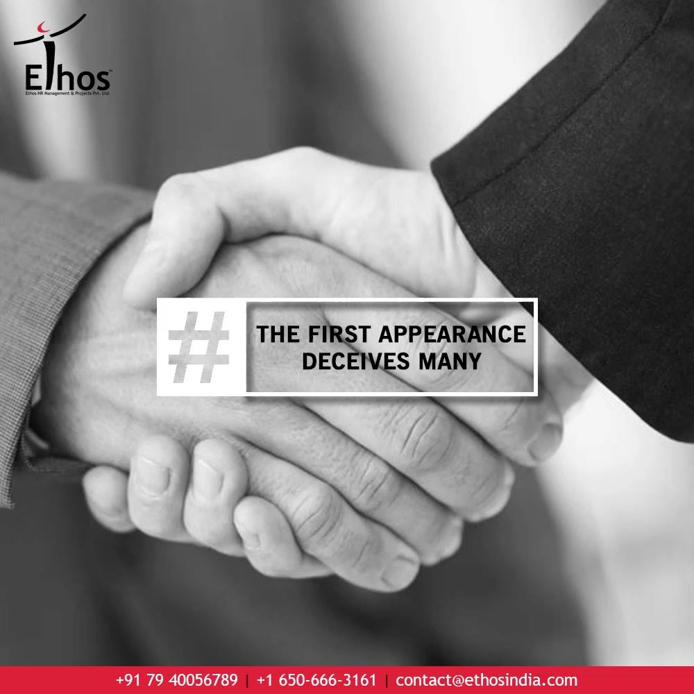 Appearances are deceptive. The first appearance deceives many. Never judge by appearances.  Replace the chances & the risk factors of hiring wrong employees with Psychometric Testing.  Get in touch with us at #EthosIndia for the best psychometric solutions.  #CareerCounselling #OurServices #CareerOpportunity #EthosIndia #Ahmedabad #EthosHR #Ethos #HR #Recruitment #CareerGuide #India