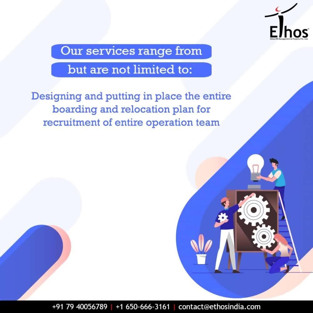 Our services!  #EthosIndia #Ahmedabad #EthosHR #Recruitment #CareerGuide #India