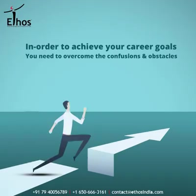In-order to achieve your career goals, you need to overcome the confusions & obstacles.  Get in touch with us and we will help you to write your name amongst the achievers' class of people.  #OvercomeConfusion #WeCareForYourCareer #WhatMakesUsStandOut #OurServices #CareerOpportunity #EthosIndia #Ahmedabad #EthosHR #Recruitment #CareerGuide #India