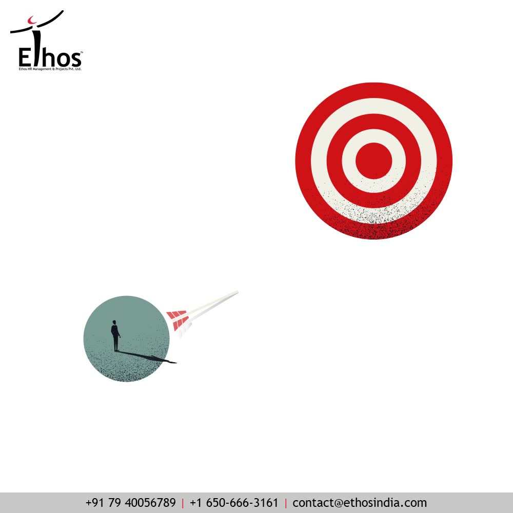 A little optimism can do miracles and no dreams are too distant to be achieved!  All you need to do is, look forward to the distant career goals with a positive attitude.  #EthosHR #Ethos #HR #Recruitment #CareerGuide #India
