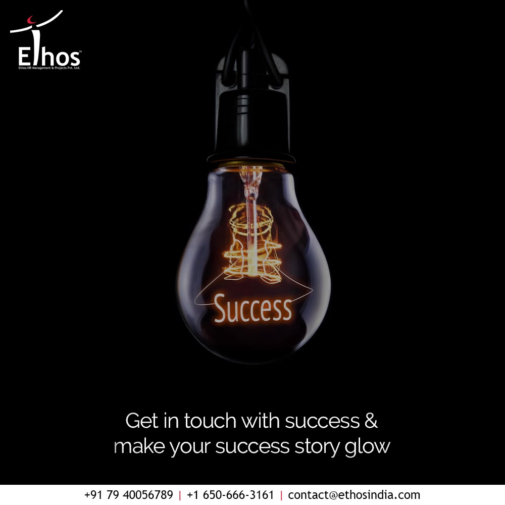 To turn your career goals and visions into reality, all you need is the right kind of assistance from an expert career guide.  Get in touch with success & make your success story glow with Ethos India.  #EthosHR #Ethos #HR #Recruitment #CareerGuide #India