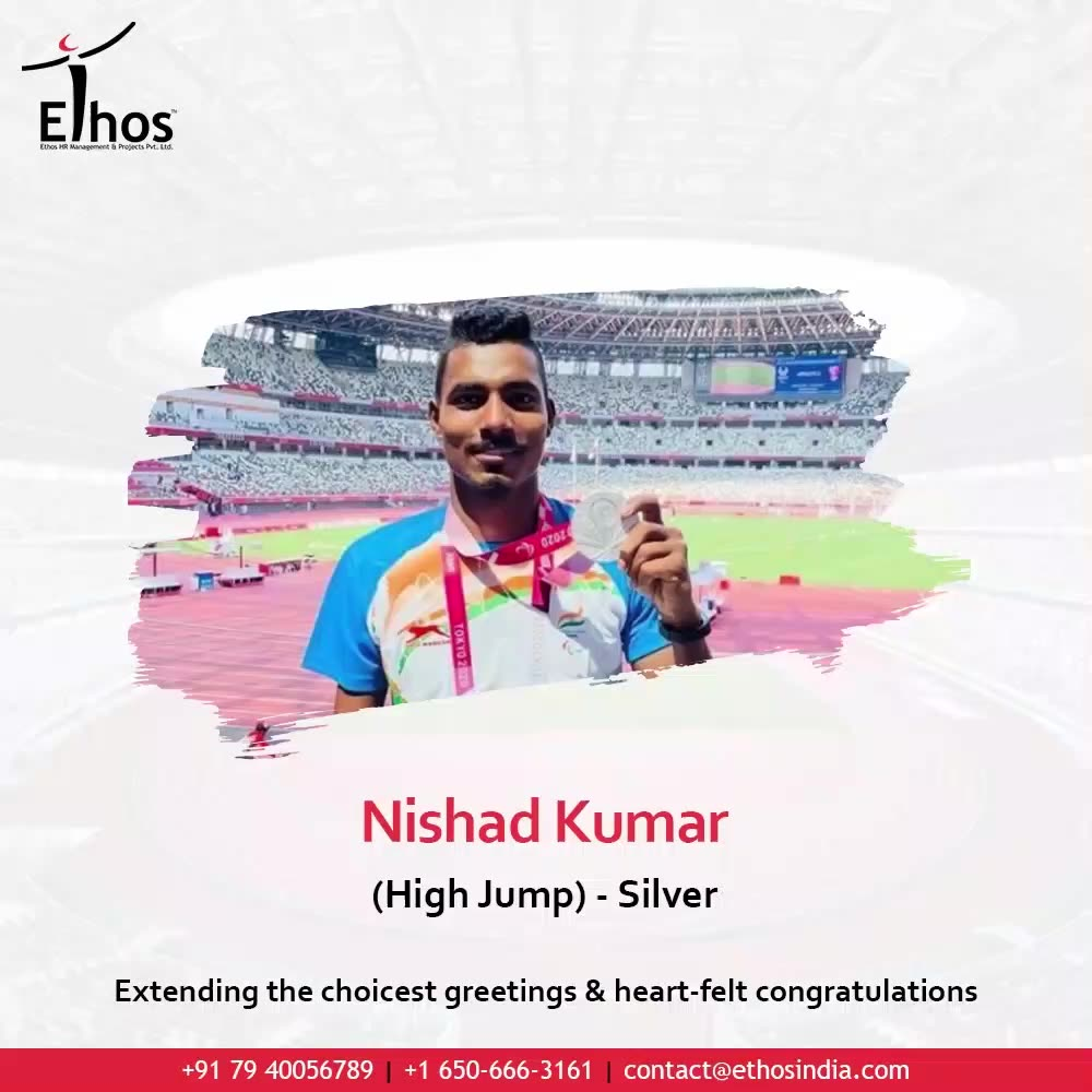 They are the real jewels of the nation; Their achievement has made us proud beyond measures.  Extending the choicest greetings & heart-felt congratulations to the winners who brought home the glory.  #WeFeelProud #ProudMoment #Victory #Winners #GoldSilverAndBronze #Awards #Recognition #Olympic2020 #OlympicTokyo #SummerOlympic #JewelsOfNation #India #Congratulations #EthosIndia #Ahmedabad #EthosHR #Ethos #HR #Recruitment #CareerGuide