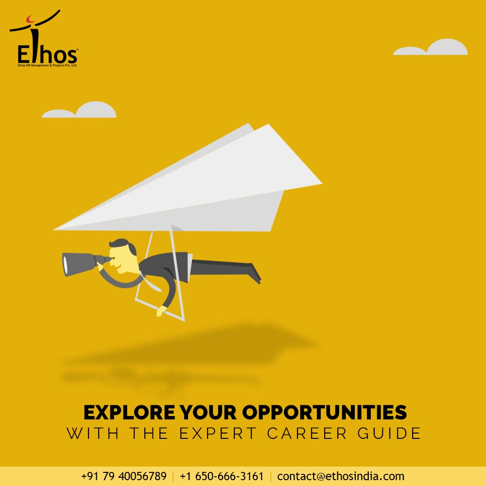 Need a little help to discover the career direction that you will love?  Explore the available opportunities with the expert career guide; Ethos India to take your career to the next level.  #EthosHR #Ethos #HR #Recruitment #CareerGuide #India