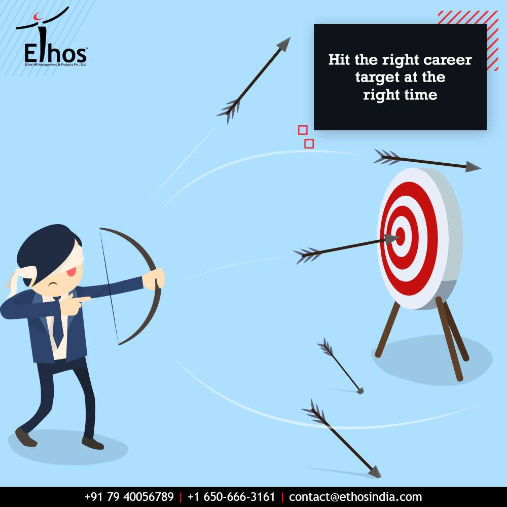 Remember that time and tide waits for none and hit the right career target at the right time!  #TOTD #MondayMotivation #EthosIndia #Ahmedabad #EthosHR #Recruitment #CareerGuide #India