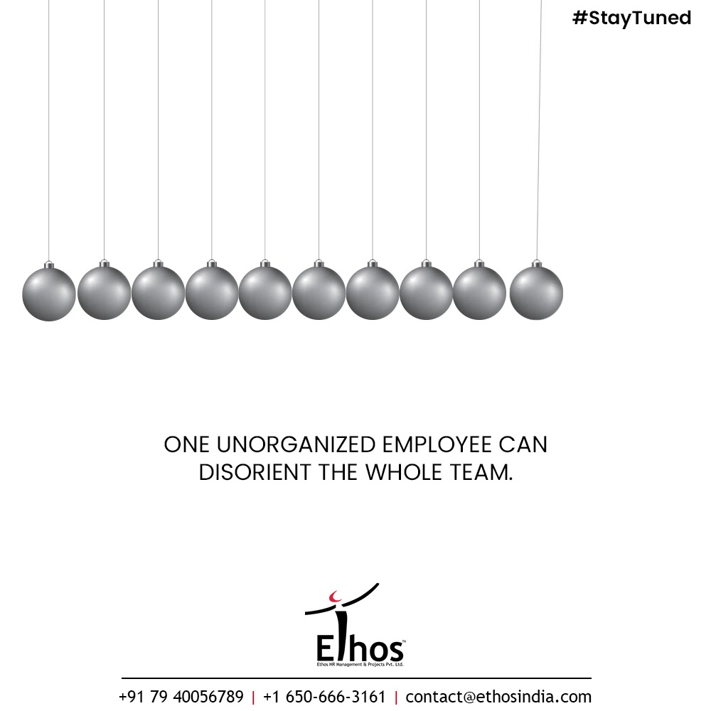 One unorganized employee can disorient the whole team. In the world of cut-throat competition, there is absolutely no space for dissonance & disorientation.   So think before you hire the wrong employee to your organization because it is always better to think before than to repent and regret later.  Confused how to identify the traits of a job applicant at your company well in advance? Stay tuned because the solution is very soon going to be here.  #CareerCounselling #OurServices #CareerOpportunity #EthosIndia #Ahmedabad #EthosHR #Ethos #HR #Recruitment #CareerGuide #India