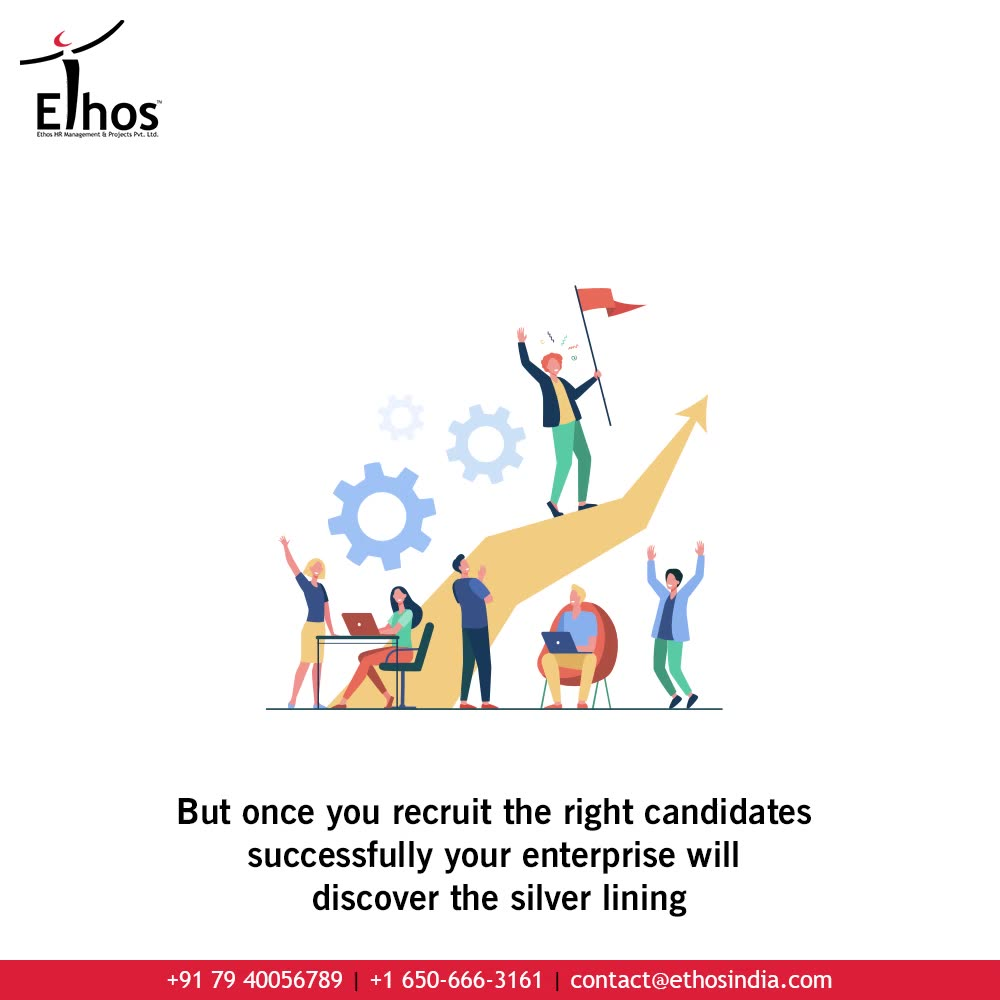 Are you looking for some inspiration to spend little more time while hiring new employees?  Realize that although hiring the new candidates can be challenging & time-taking; recruitment of the right candidates will help your enterprise to discover the silver lining.  #JobRecruitment #CareerCounselling #OurServices #CareerOpportunity #EthosIndia #Ahmedabad #EthosHR #Ethos #HR #Recruitment #CareerGuide #India #EmployeeRecruitment