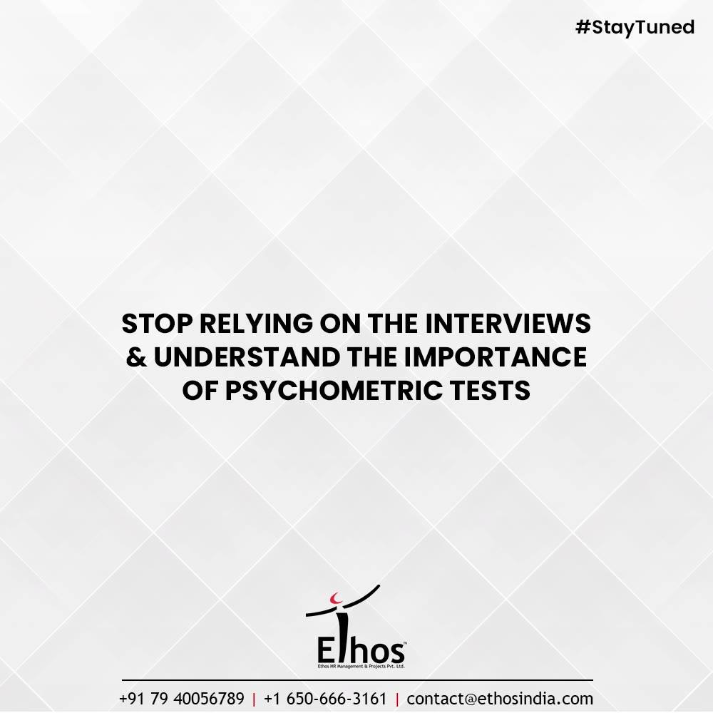 Do you think before you act or act first and think later?  Believe us acting without thinking can prove to be dangerous when it comes to employee recruitment. Look before you leap and think multiple times before you hire the new employees to your organization.  Stop relying on the interviews and try to understand the importance of psychometric tests in the modern scenario. Get in touch with us at #EthosIndia and we will help you with the reliable psychometric tests.  #CareerCounselling #OurServices #CareerOpportunity #EthosIndia #Ahmedabad #EthosHR #Ethos #HR #Recruitment #CareerGuide #India