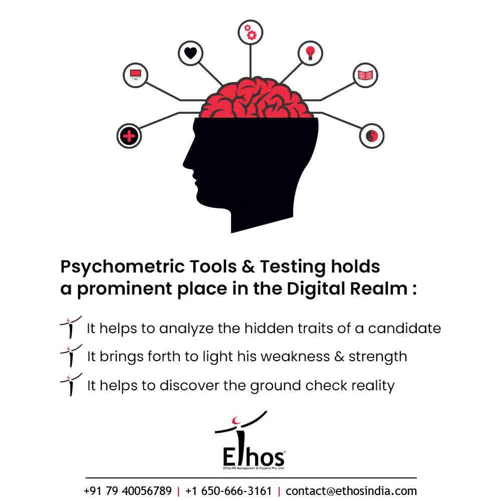 Are you still doubtful about the merits and advantages of Psychometric Testing?  Being an expert career guide we will strongly recommend you for the Psychometric Testing because in the Digital Realm it can be used as a very useful tool for employee recruitment & hiring.   -It will help you to analyze the hidden traits of a candidate  - It will bring forth to light his weakness & strength of the candidates  - It will help to discover the ground check reality  So think no more and get in touch with us for further related queries   #CareerCounselling #OurServices #CareerOpportunity #EthosIndia #Ahmedabad #EthosHR #Ethos #HR #Recruitment #CareerGuide #India