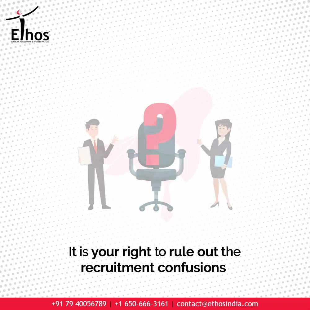 Avoid the employee hiring struggles because it is your right to rule out the recruitment confusions.  So think no more and get in touch with us for further related queries: 7940056789  #EthosHR #Ethos #HR #Recruitment #CareerGuide #India