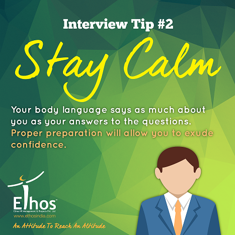 #InterviewTip2 STAY CALM Your body language says as much about you as your answers to the questions. #keepcalm http://t.co/Lkuem2iEpe